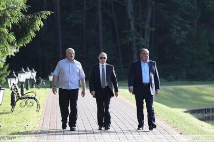 Состоялись переговоры Путина с тремя президентами стран бывшего СССР