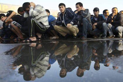 В МВД РФ отмечается рост преступлений, совершенных мигрантами