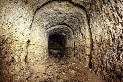 В Британии под жилым домом обнаружен странный тоннель
