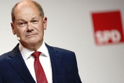 Шольца поздравили с успехом на выборах в Бундестаг