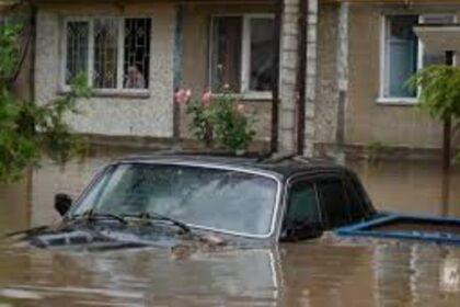 Фото: Проливные дожди стали причиной наводнения в Италии. После пожаров, страна…