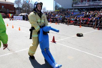 Спасательное многоборье: сборная РУз заняла третье место на соревнованиях в Казахстане