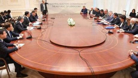 В МИДе прошла встреча с международными наблюдателями от МПА СНГ