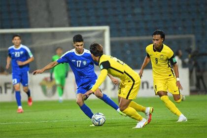 Сборная Узбекистана по футболу победила сборную Малайзии
