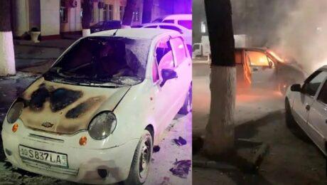 В центре Ташкента произошло возгорание в