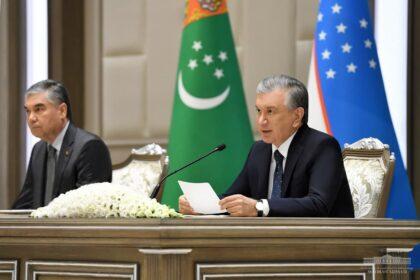 Туркменистан и Узбекистан подписали ряд важных документов