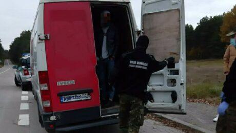 Польские пограничники задержали украинца, перевозившего нелегалов из Ирака