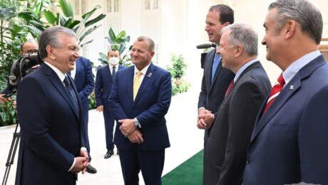Состоялась встреча президента РУз с американскими конгрессменами