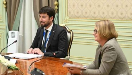 Шавкат Мирзиёев встретился с главой миссии наблюдателей от БДИПЧ ОБСЕ