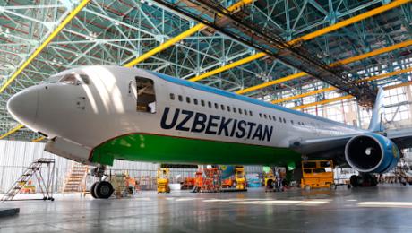Презентация швейцарских самолетов в Uzbekistan Airways Technics